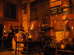 Preservation Hall inside, up close and personal