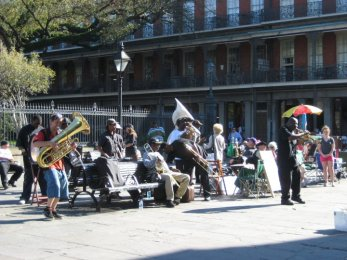Live Jazz in Jackson Square