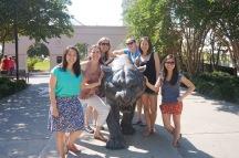 Girls at LSU!