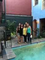 The girls all dressed up - so much to do in NOLA, so little time