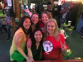 Fast friends from Australia on Bourbon St.