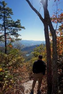 Morning hike on the Massanutten Ridge Trail