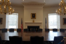 Now the rotunda is open to the public as a library, classroom and meeting place!